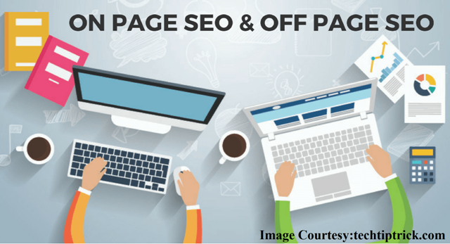 On Page Optimization and Off Page Optimization