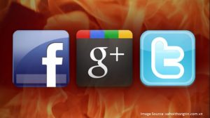 facebook vs twitter vs google+
