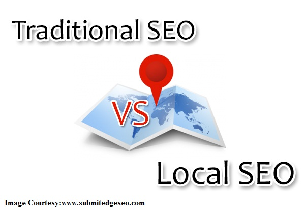 local SEO and traditional SEO