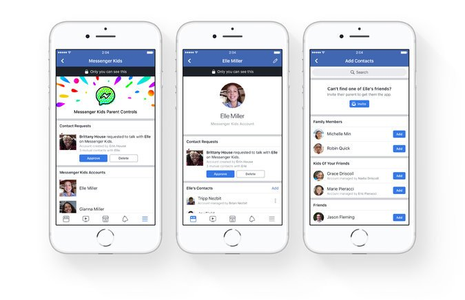 Messenger Kids: A new App Launched by Facebook for Kids