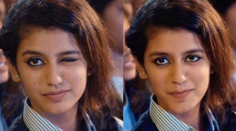 Priya Praksh Warrier A wink that hit millions of heart