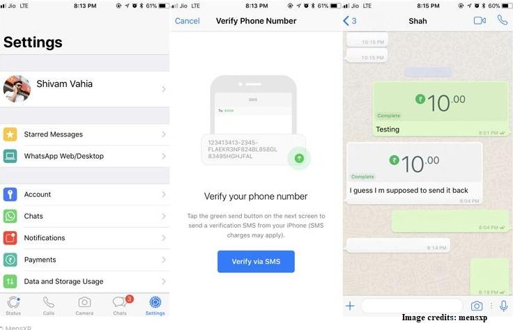 WhatsApp Payments Setup