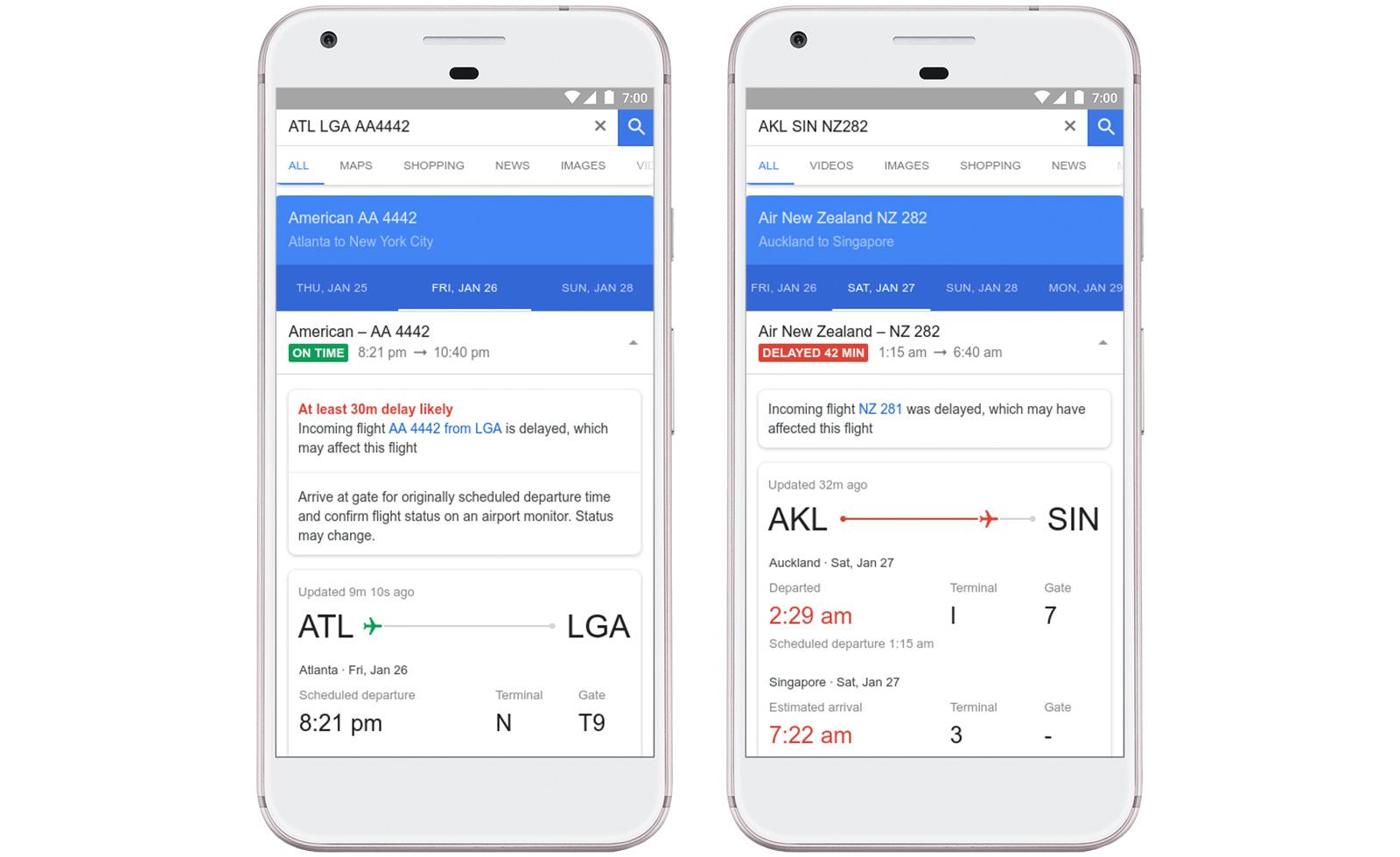 Google's AI- Driven Prediction of Flight Delays Feature!