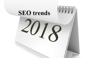 SEO trends for 2018!