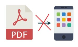 PDFs are not Mobile Friendly