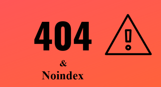 Noindex & 404s Go At Same Speed