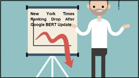 New York Times Ranking Drop After Google BERT Update